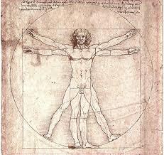 "alt=""Vitruvian Man by Leonardo Da Vinci"""