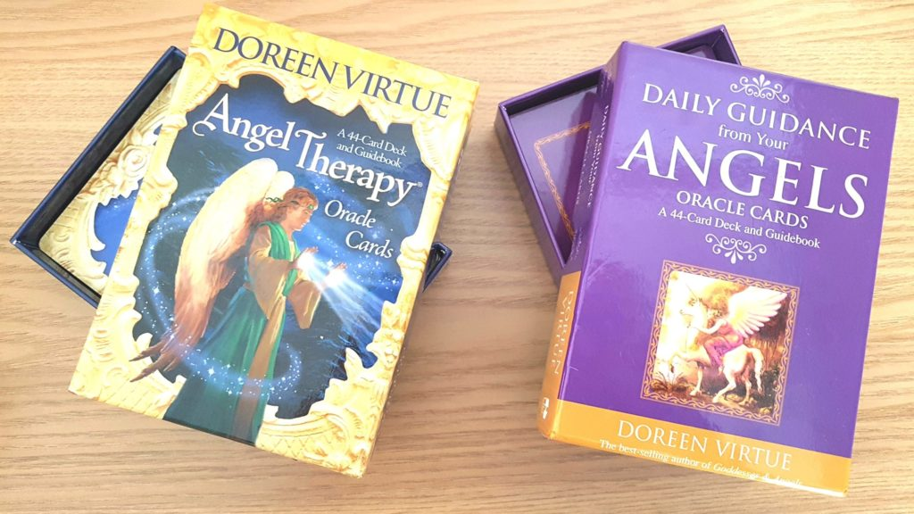 "Alt=""Angel Cards by Doreen Virtue"""