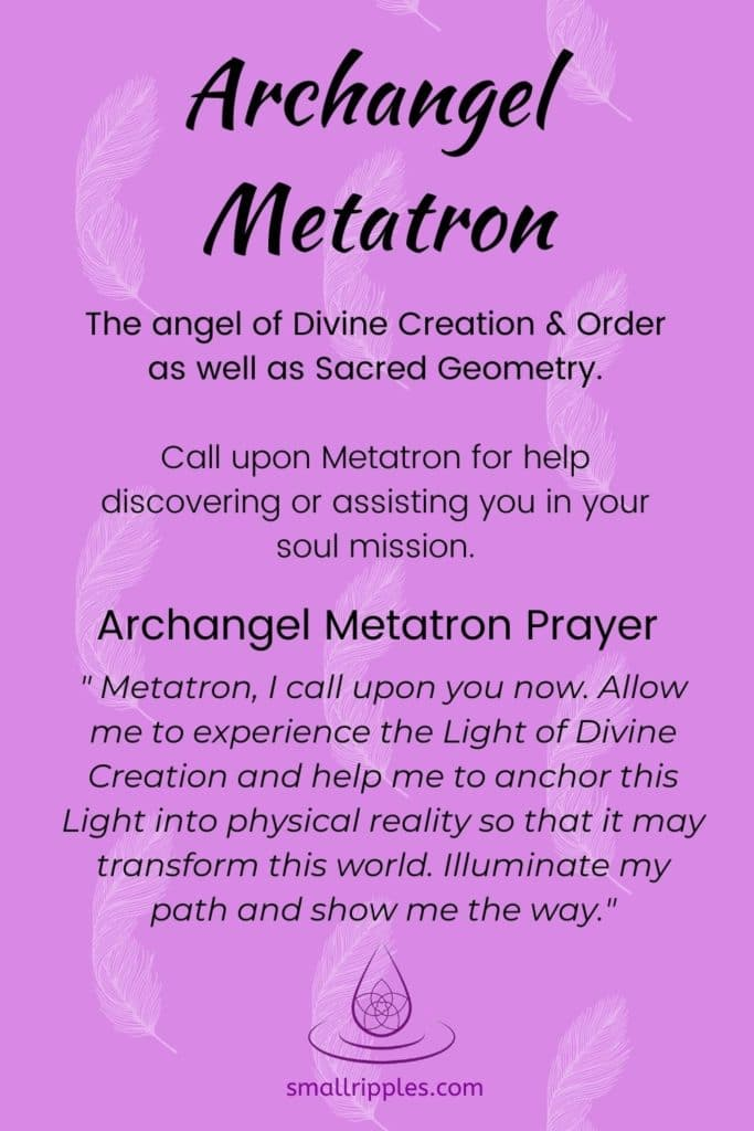 "alt=""Archangel Metatron Prayer"""