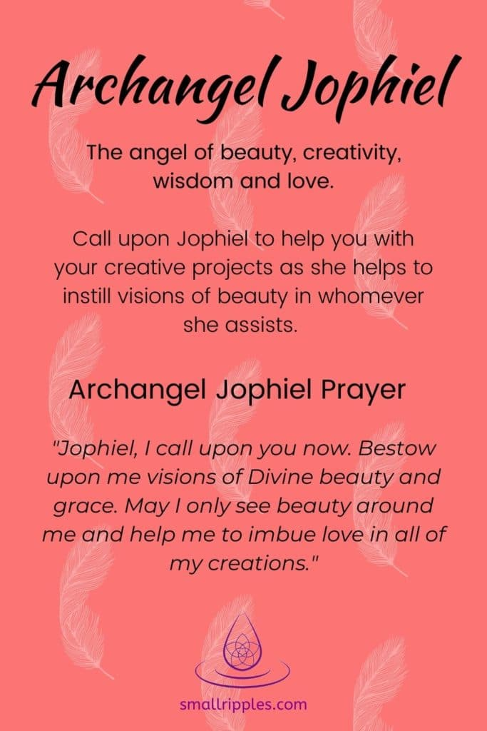 "alt=""archangel jophiel prayer"""