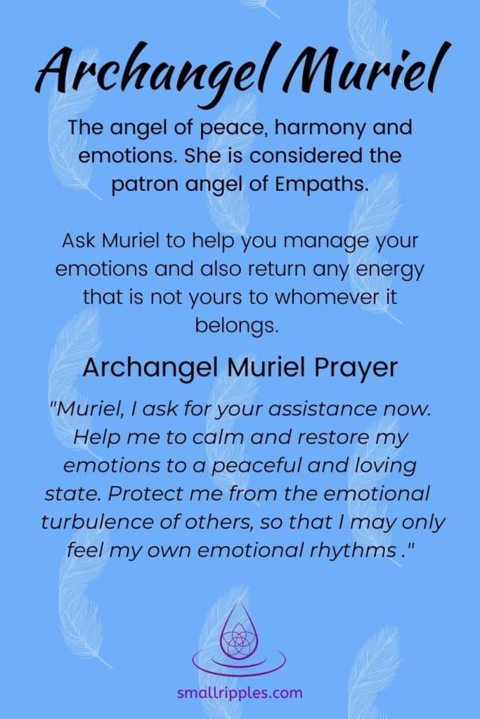 """alt= """"archangel muriel prayer"""""""