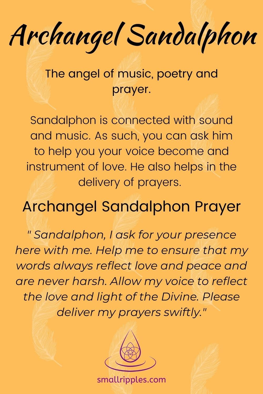 "Alt=""Archangel Sandalphon prayer"""