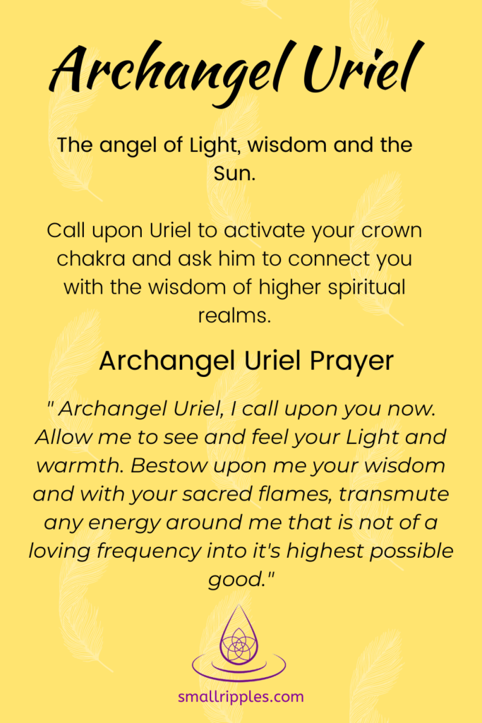 "alt-""archangel Uriel prayer"""