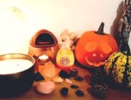 Spiritual Halloween and Samhain Altar