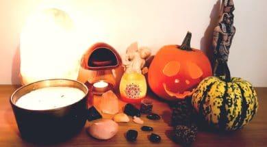 Spiritual Halloween and Samhain Altar