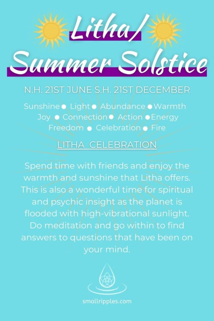 "alt=""Litha/summer solstice meaning and celebration"""