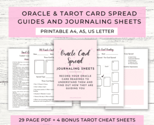 Oracle & Tarot Card Spread Guides