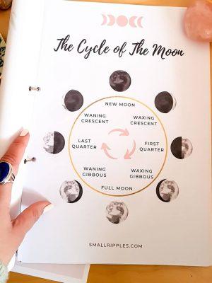 Cycle of the Moon Printable